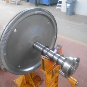 Reblading Steam Turbine Rotor (2)